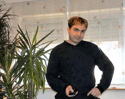 Harry Frey als Inhaber von Frey-Marketing