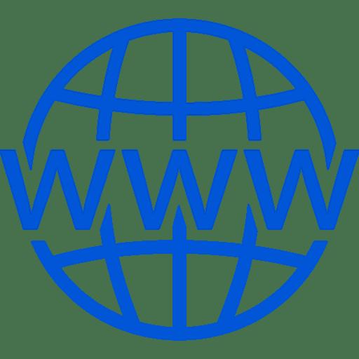 Globales Icon für Internet-Service